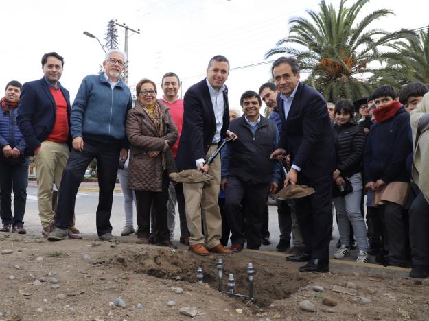 Gobierno comienza instalación de cámaras de televigilancia en la comuna de Coinco
