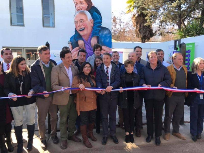 Machalí: Alcalde y autoridades regionales inauguran clínica para el adulto mayor