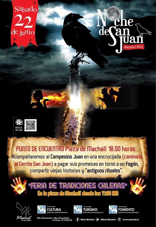 "Machalí vivirá la ""Noche de San Juan"""