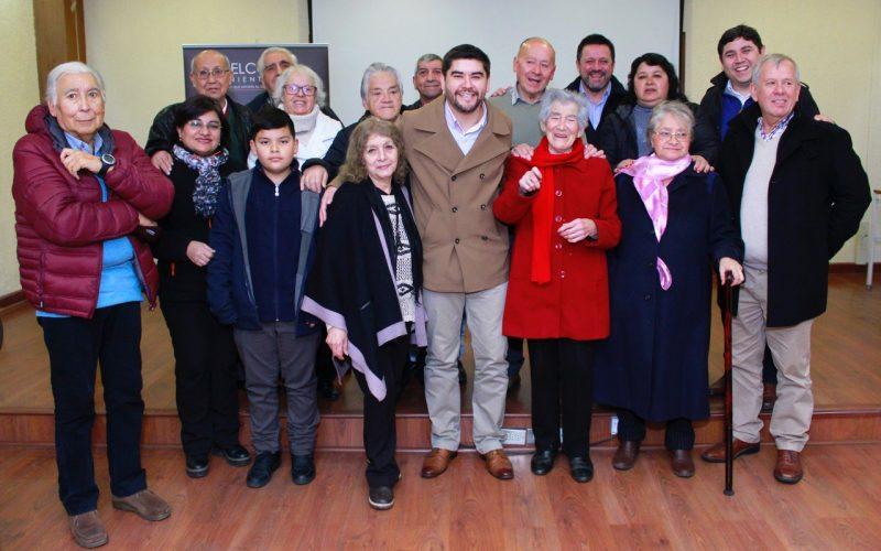 Agrupación de familiares de la Tragedia del Humo visitó El Teniente