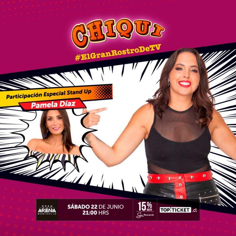 """""""CHIQUI"""" EL ROSTRO DE TV + INVITADA ESPECIAL: PAMELA DÍAZ"""