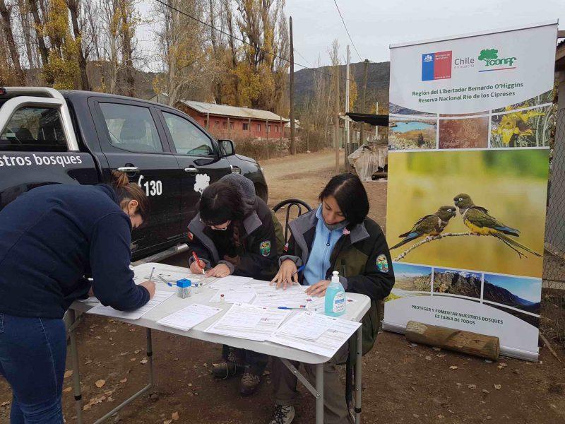 Conaf activa Programa Mascota Protegida para vecinos de Chacayes