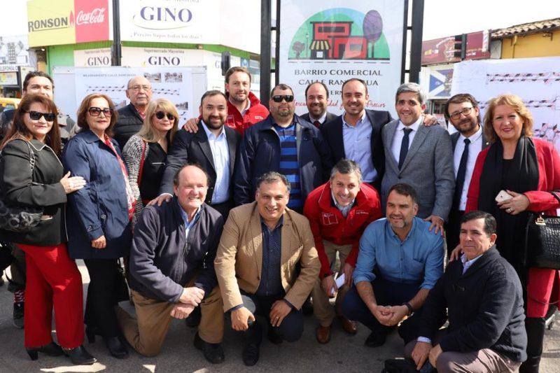 San Fernando: Intendente Masferrer anunció que ingresará al CORE millonario proyecto para el mejoramiento de la Calle Rancagua y el Barrio Comercial