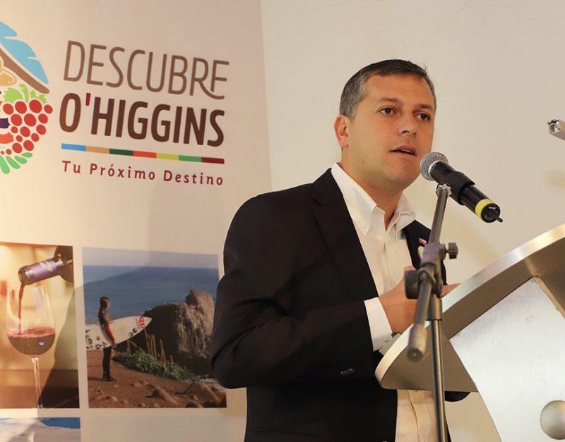 Intendente Masferrer anuncia inversión de $1.200 millones para Turismo buscando generar empleo y desarrollo económico para O'Higgins