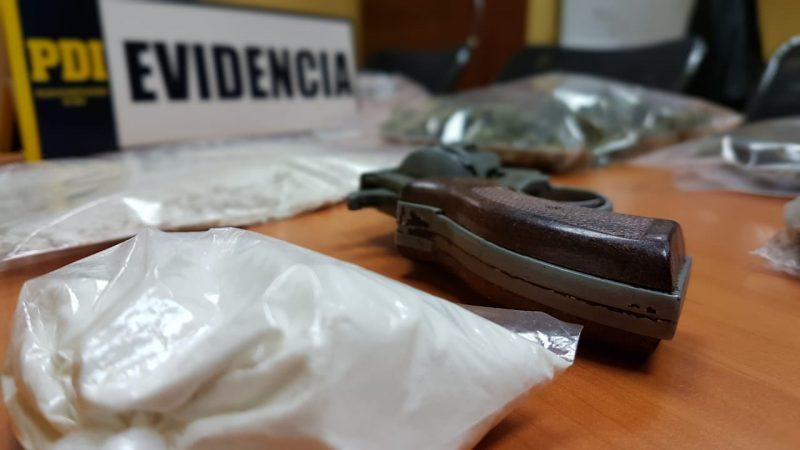 Rancagua: pareja traficaba en las cercanías de jardín infantil, colegio y centro deportivo