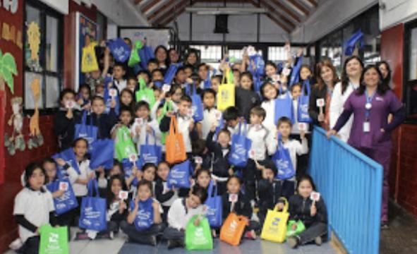 Escolares de Machalí festejan Día Mundial de la Alimentación junto a Salud Machalí