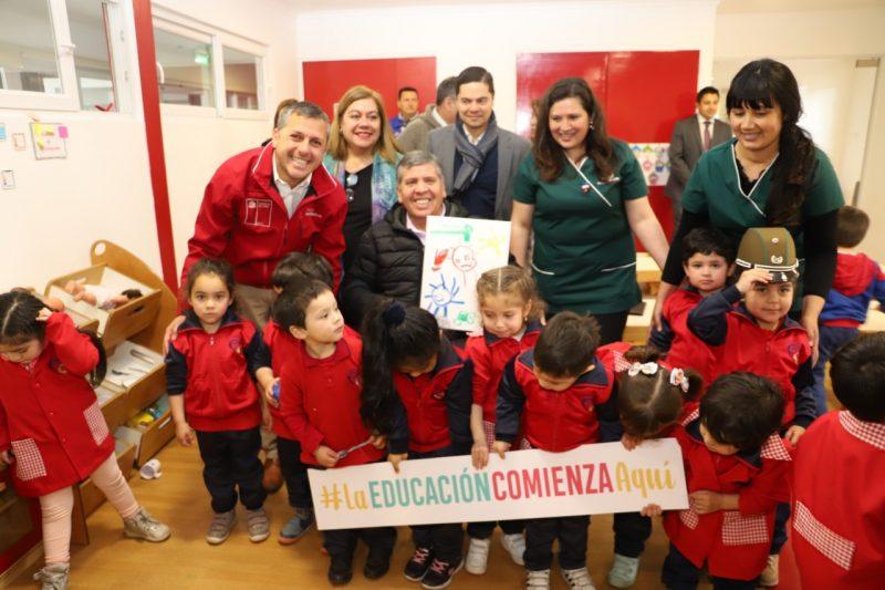 """Rengo: Sala Cuña y Jardín Infantil """"Sonrisitas de Amor""""mejorará la cobertura y calidad de la educación preescolar"""