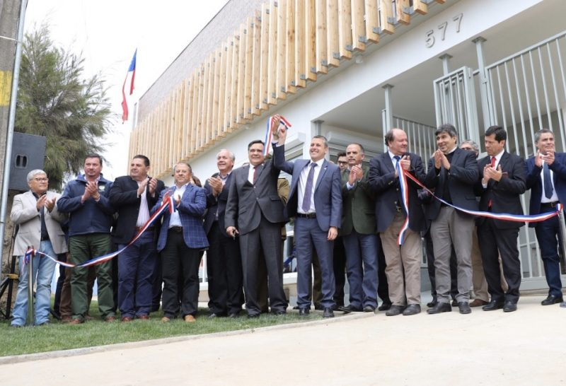 Pichilemu: inauguran nuevo edificio de la Gobernación de Cardenal Caro