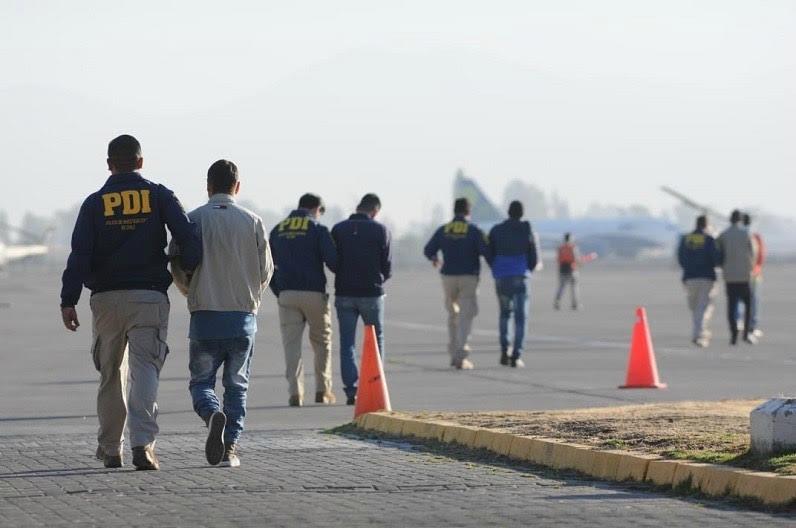 O´Higgins: 50 extranjeros serán expulsados del país