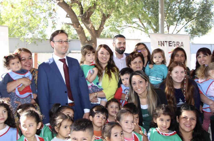 En jardín infantil de Rancagua se da inicio oficial al Año Escolar 2020