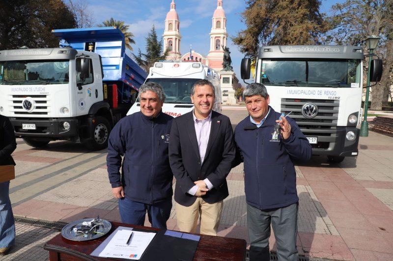 Gobierno Regional aprueba compra de vehículos para 6 comunas de la región
