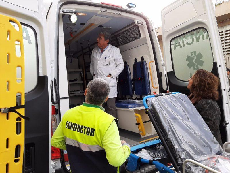 Dos Modernas ambulancias suma el Hospital Regional Rancagua