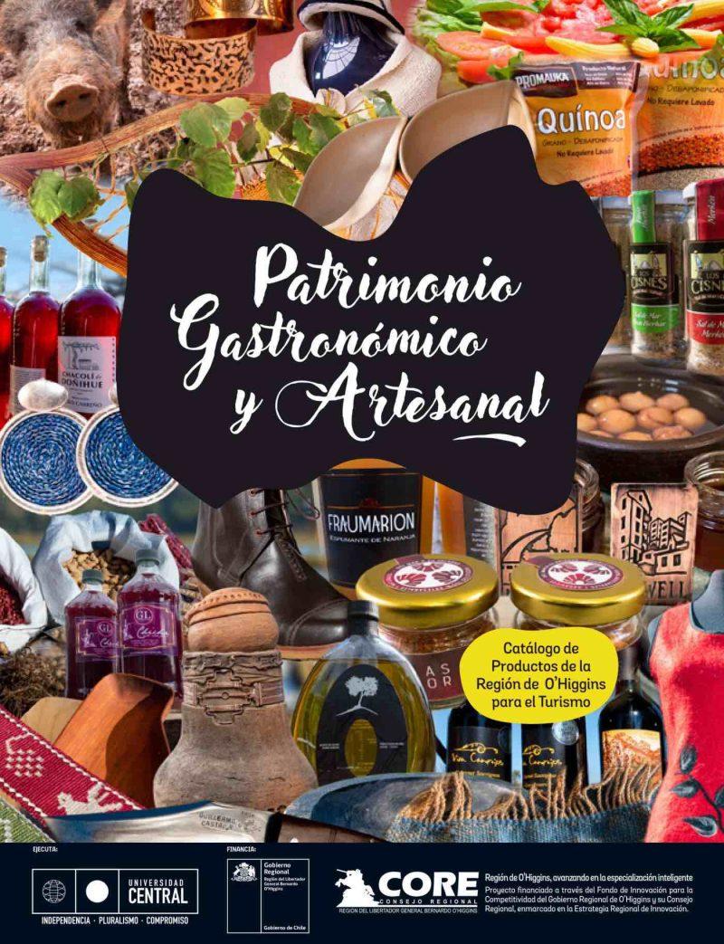 Catálogo rescata los productos gastronómicos y artesanales de O'Higgins