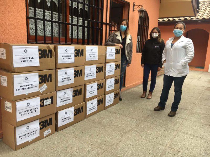 51 mil 500 mascarillas donadas por Fundación Luksic fueron distribuidas en O'Higgins