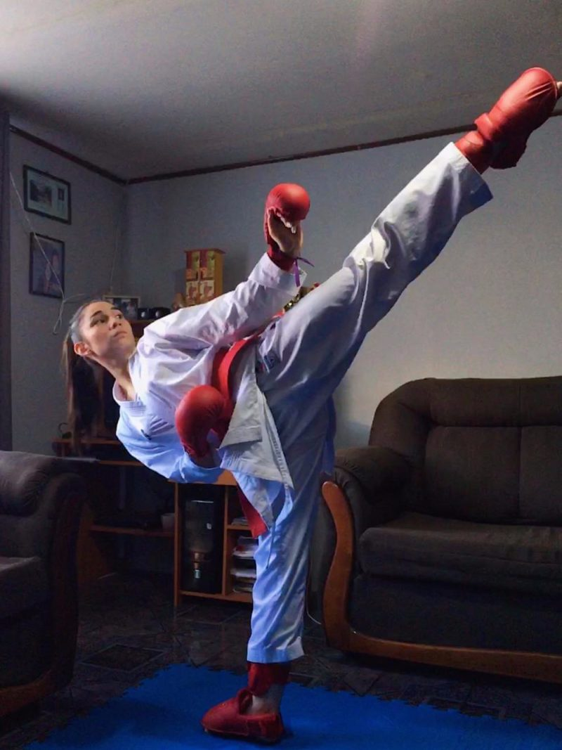 Karatekas regionales son top ten del mundo.