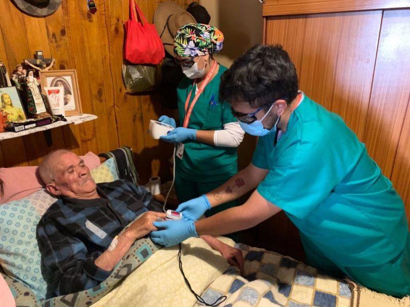 Ante la pandemia: Atención Primaria de O´Higgins refuerza la Hospitalización Domiciliaria