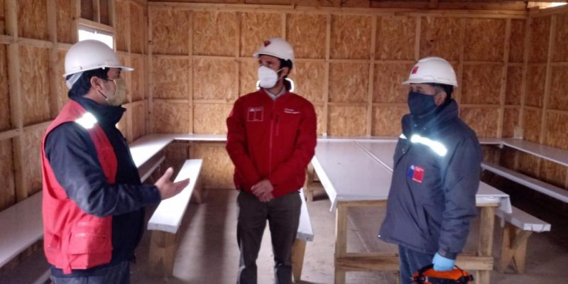 Dirección del Trabajo fiscalizó medidas sanitarias contra el Coronavirus en proyecto inmobiliario en Machalí