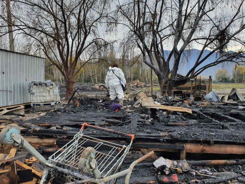 PDI Investiga homicidio y posterior incendio en Doñihue