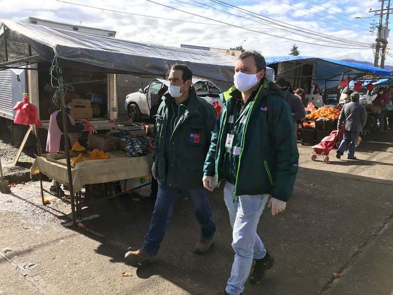 SAG del Minagri apoya fiscalización de ferias libres en Rancagua y Machalí